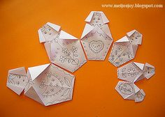 MeiJo's JOY: Easy Paper Craft - Origami Babushka / Matryoshka doll...