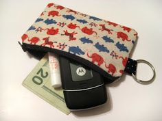 Another DIY coin purse.