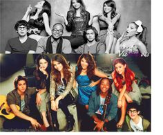 Image about ariana grande in hotties by caroline Victorious Nickelodeon, Icarly And Victorious, Victoria Justice, Liz Gilles, Daniella Monet, Adriana Grande, The Best Series Ever, Tv Show Casting, Sam And Cat