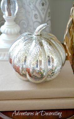 Mercury pumpkin! Adventures in Decorating
