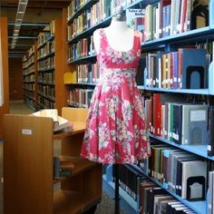Librarian dresses FTW