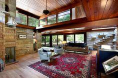 1957 Midcentury modern by architect John Randal McDonald - Grand Rapids, Michigan