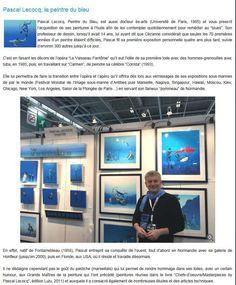 Bien sympathique article de Henri Eskenazi dans ParadisePlongee sur mon expo au Salon de la Plongee à Paris en janvier. Great press release by H. Eskanazi about my solo show at the Paris Dive Show this January. Full article to read at http://ift.tt/2iMxyUG  #art #blue #painterofblue #painting #painter #artist #contemporaryartcurator #artstack #artcartridge #glarify#artgalleryunderwater #diving #diver#in #pint #plshow#salonplongee #diveshow #parisdiveshow