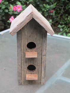 * Fence Paling Birdhouse