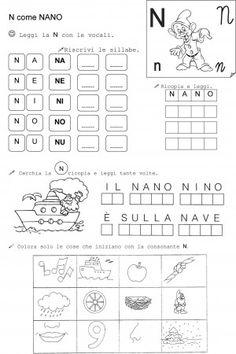 N di nano classe prima 1