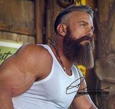 The Beard & The Beautiful -0131 #menshairstyles2018 #MensFashionBeard
