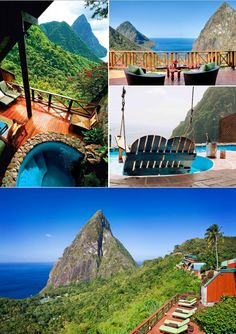 Take the trip of a lifetime where each suite is deliberately without a fourth wall, inviting the spectacular sunsets and astonishing views right inside, to be a part of your very private, very special retreat at Ladera Resort in St. Lucia.