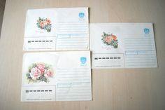 Set of 3 USSR paper envelopes  $5.00 USD