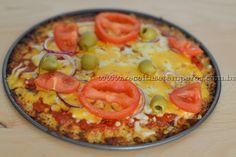 Pizza Low Carb (baixo carboidrato) | Receitas e Temperos