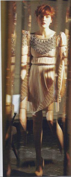 Florence Welch, Under the Radar, February 2011 Florence And The Machine, Florence The Machines, Florence Welch Style, History Icon, India, Front Row, Boho Fashion, Celebrity Style, Photoshoot