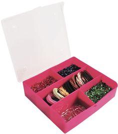 Craft Medley Bead Storage Stackable Organizer