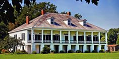 St. Joseph (St. Joe) Plantation was built in 1830. It is  located along the Great River Road (Highway 18) in Vacherie, Louisiana. The 12,000-square-foot raised Creole-style home (standing on brick columns to protect from flooding) The plantation was first owned by Josephine Aime Ferry in 1830, but the Ferry family sold it to Joseph Waguespack It is today maintained by descendants of the Waguespack and Simon families