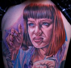 Pulp Fiction Tattoo by Cecil