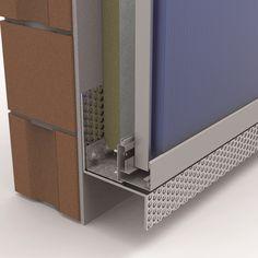 Arq. Details Facade Design, Wall Design, Exterior Design, House Design, Container Architecture, Facade Architecture, Building Facade, Building Structure, Isolation Facade