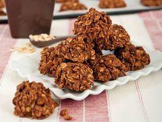 Foto dei biscotti alla crema di nocciole e avena