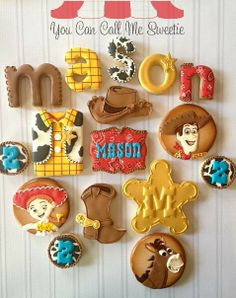 Toy Story cookies!!