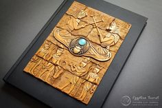 Amazing polymer clay journal covers by Aniko Kolesnikova Polymer Clay Kunst, Polymer Clay Projects, Polymer Clay Creations, Polymer Clay Beads, Handmade Journals, Handmade Books, Polymer Journal, Book Cover Art, Book Covers
