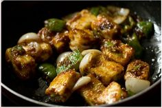 How to make Dry Chilly Paneer