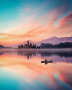 ***Lake Bled (Slovenia) AT @mthrworld BY @furstset on Instagram