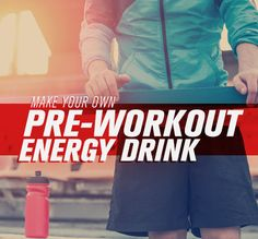 DIY Supplements: Make your own Caffeine Free Pre-Workout