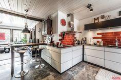 Asennetta ja särmää keittiössä - Etuovi.com Sisustus
