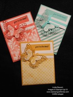 Irresistibly Yours Butterfly Basic by Linda Bauwin,  Great Make-n-Take Full Details at http://stampingwithlinda.typepad.com/stamping_with_linda/2014/12/irresistibly-yours-specialty-designer-paper.html