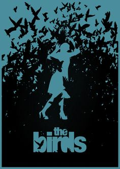 The Birds - Minimalist Poster
