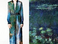 Christopher Kane - Le ninfee normanne di Claude Monet