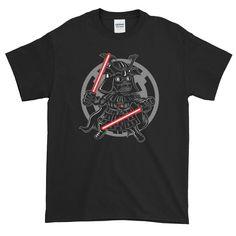 Dark Side Samurai T-Shirt Dark Side, Samurai, Mens Tops, T Shirt, Supreme T Shirt, Tee Shirt, Tee, Samurai Warrior
