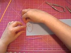 """Quilling: Outlining and """"Writing"""" - YouTube"""