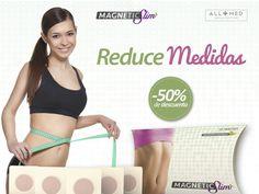 """MAGNETIC SLIM son unos parches epidérmicos que nos ayudan a deshacernos de lo que está de más en nuestro cuerpo. Sus activos 100% naturales combinados con un poderoso imán te ayudan a reducir medidas y bajar de peso. ADQUIERELO CON 50% de DESCUENTO a Sólo $500 http://allmed.mx/tienda/productos-allmed/18-magnetic-slim.html Con Allmed... """"La salud se refleja en tu belleza"""""""