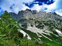 Wandern im Wilden Kaiser: Von Going zur Gruttenhütte