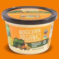 Get that cheddar! #boulderorganic #wemakesoupbetter #glutenfree #nongmo #vegetarian #organic #gardenfresh