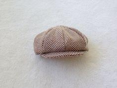 Newsboy Hat Newsie Hat Pageboy hat Paperboy hat by fourtinycousins, $35.00