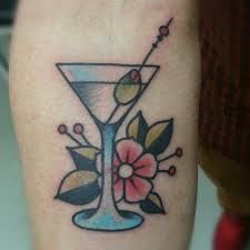 martini tattoo - Pesquisa Google