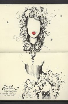 hells belle by andrea joseph's illustrations, via Flickr
