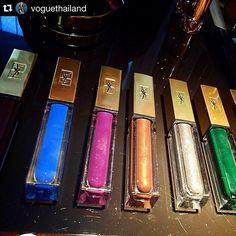 Новинка #YSL: Mascara Vinyl Couture - цветные лаковые туши для ресниц. 9 оттенков: 7 цветных и 2 блестящих топа.  Май 2016. ⚫️ #YSLSummer2016: new  #YSLMascara Vinyl Couture. 9 shades: 7 colors & 2 sparkling topcoats.  May 2016.  #yslmakeup #yslmascara #YSLbeauty #YSLMascaraVinyl #yvessaintlaurent #beautyblog #beautynews #mascara #бьютиблог #бьютиновинки #бьютиновость #тушь #тушьдляресниц #косметика