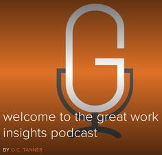 Super excited to be interviewed by the host of the Great Work Insights Podcast & Director at OC Tanner Institute (http://www.octanner.com/), Todd Nordstrom! Coming soon.....