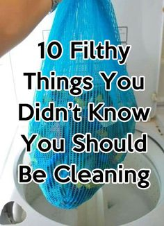 I admit I've never thought about #5, YUCK! http://lifeasmama.com/10-filthy-things-you-never-thought-about-cleaning/
