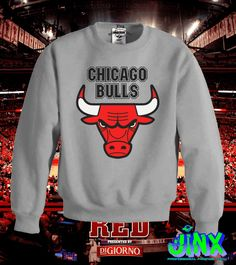 Playera o Camiseta Sudadera Chicago Bulls - Jinx