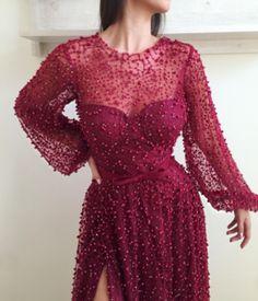 Amaranth Purple TMD Gown