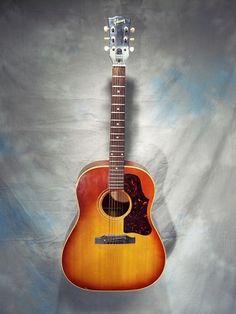 1963 Gibson J45 round-shoulder acoustic guitar.