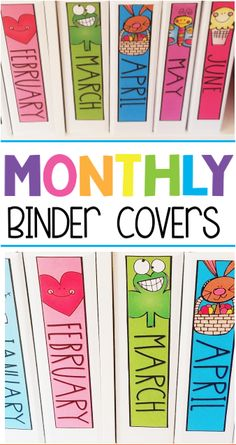 Monthly Binder Covers! Classroom Setup, Preschool Classroom, Future Classroom, Classroom Libraries, Classroom Behavior, Classroom Environment, Preschool Ideas, Head Start Preschool, Daycare Organization