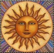 Celestial Sun - Accent Tile