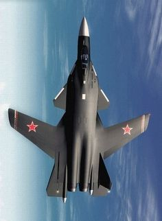 Sukhoi Berkut - Russian experimental supersonic jet fighter developed by Sukhoi Aviation Corporation.