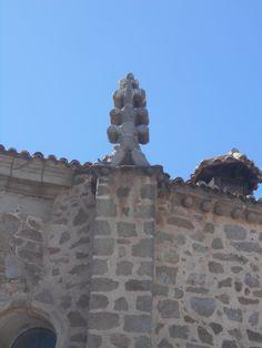 Iglesia de Santiago. Remate en forma de abeto.