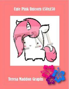 (4) Name: 'Crocheting : Cute Pink Unicorn 150x150