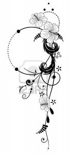 Could have initials added to it and they could be blended in so only I would know where they were....would also like to have this in color. Also with more flowers maybe even more detail and a quote