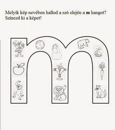 Játékos tanulás és kreativitás: Új betűket tanulunk: m, t, s Dysgraphia, Aphasia, Literature, Preschool, Language, Lily, Letters, Teaching, Home Decor