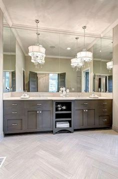 Knowing how or where to start with a bathroom remodel can be overwhelming for any homeowner with big dreams but no information. Questions swim around their head about exactly where to start with the… Diy Bathroom Remodel, Bathroom Renovations, Bathroom Interior, Modern Bathroom, Small Bathroom, Home Remodeling, Bathroom Makeovers, Bathroom Showers, Kitchen Remodeling